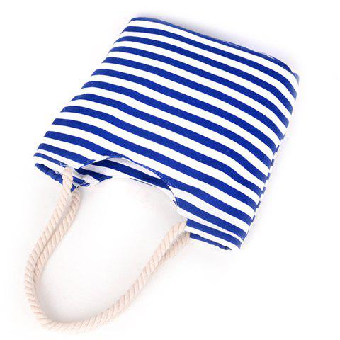 Outfit Concise Colour Block and Striped Design Shoulder Bag For Women -   Mobile