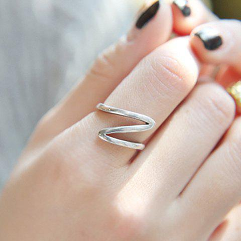Outfits Alloy Wave Ring