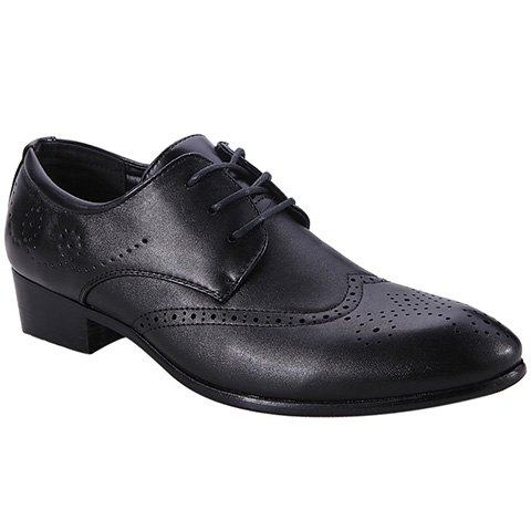 Cheap Trendy Wingtip and Lace Up Design Formal Shoes For Men