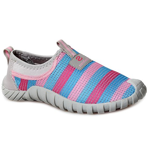 Hot Casual Color Block and Mesh Design Sneakers For Women