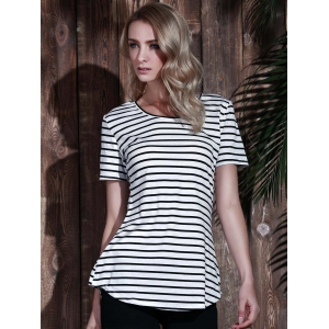 Tunic Striped T-Shirt -
