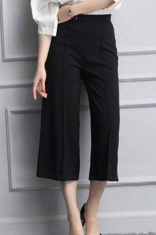 Outfit High Waisted Crop Wide Leg Culotte Pants