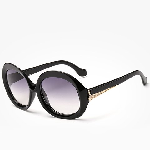 New Chic Metal Splicing Cat Eye Sunglasses For Women