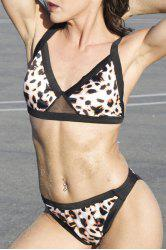 Sexy Push Up Leopard Bikini Set For Women
