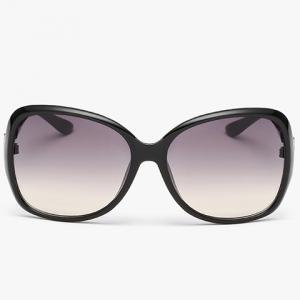 Chic Hollow Metal Embellished Sunglasses For Women -