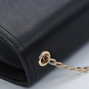 Concise Chains and Solid Color Design Crossbody Bag For Women -