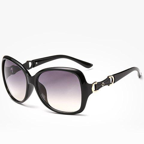 Outfit Chic Hollow Metal Embellished Sunglasses For Women