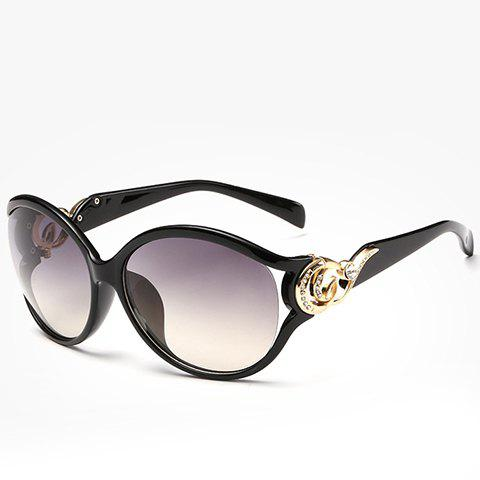 Buy Chic Rhinestone and Cloud Shape Embellished Sunglasses For Women