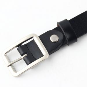 Chic Metal Pin Buckle Simple PU Belt For Women -