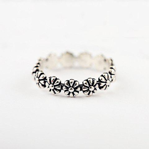 Fancy Vintage Floral Ring