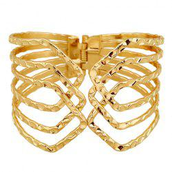 Hollow Out Cuff Bracelet