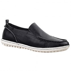 Trendy Solid Color and Slip-On Design Casual Shoes For Men -