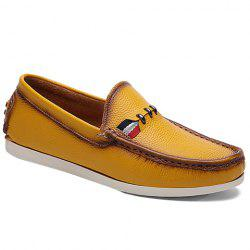 Simple Slip-On and Solid Color Design Casual Shoes For Men -