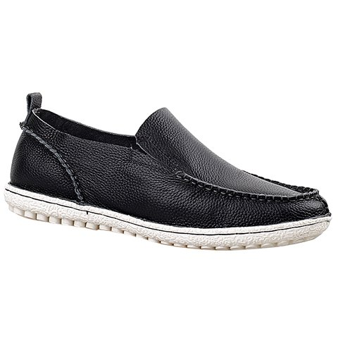 Outfit Trendy Solid Color and Slip-On Design Casual Shoes For Men