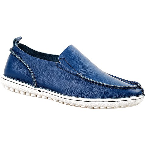 Solide Couleur Tendance et Slip-On Design Souliers simple d'homme