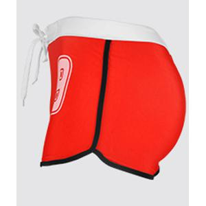 Hot Sale Lace Up Letter Printed Boxers Swimming Trunks For Men -