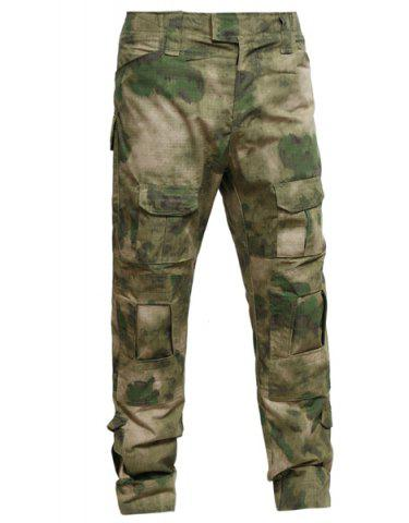 Fancy Outdoor Men's Camouflage Pockets Training Pants CAMOUFLAGE S