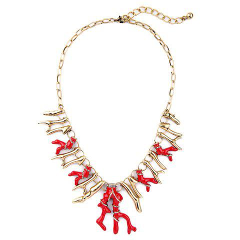 Best Graceful Exaggerated Branch Shape Necklace For Women