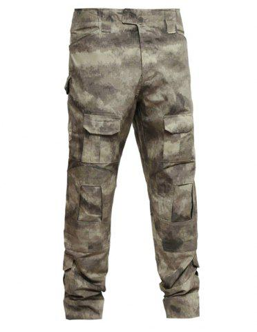Online Outdoor Men's Camo Pockets Training Pants