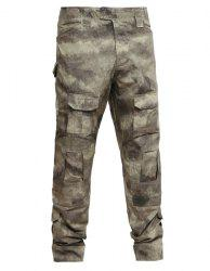 Outdoor Men's Camo Pockets Training Pants