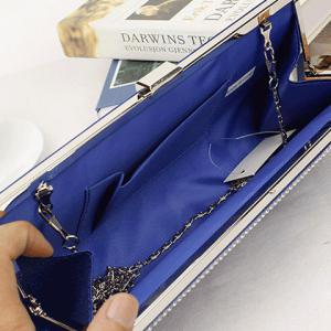 Gorgeous Weaving and Clip Closure Design Evening Bag For Women -
