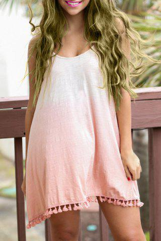 25 Off Trendy Spaghetti Strap Fringed Loose Fitting