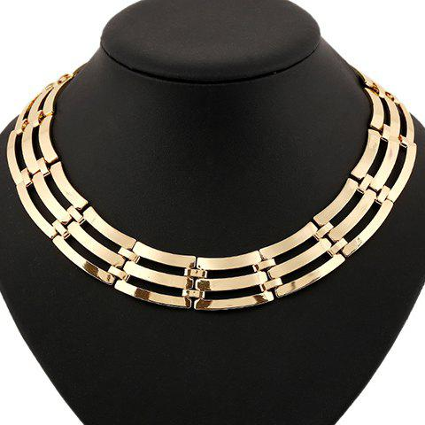 New Statement Hollow Out Multilayer Necklace