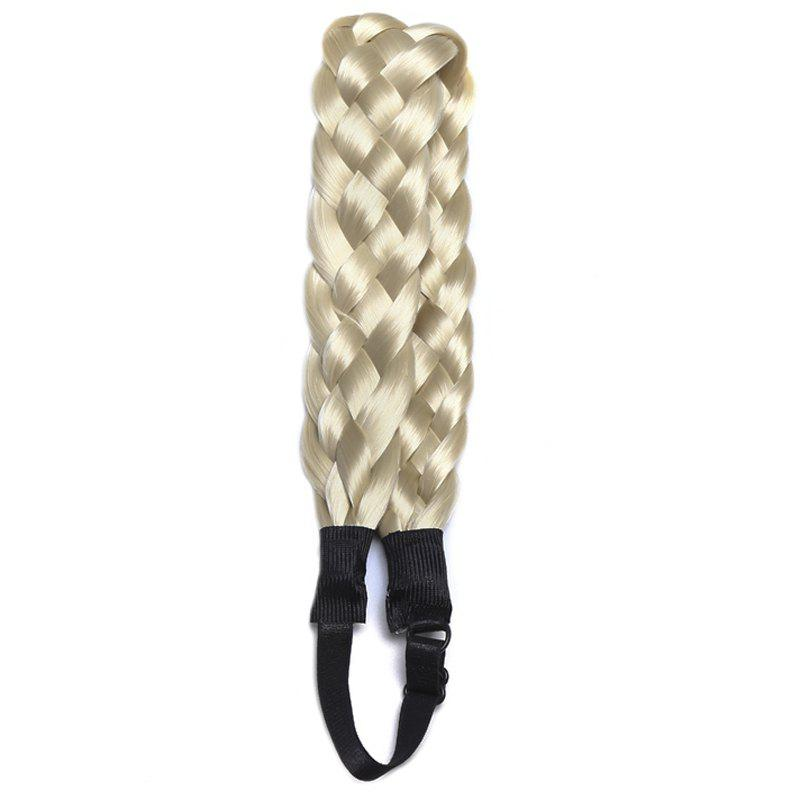 Affordable Fashion Long Synthetic Hand Made Weaving Braided Hair Extension For Women
