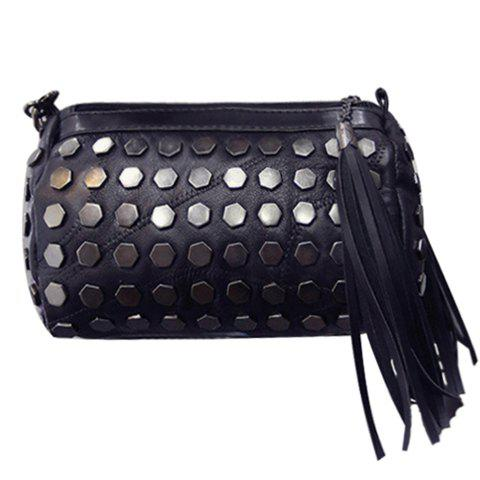 New Trendy Metal and Tassels Design Crossbody Bag For Women