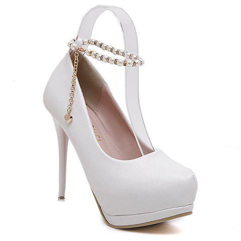 Store Elegant Beading and Platform Design Pumps For Women