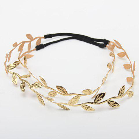 Unique Chic Simple Leaf Shape Headband For Women