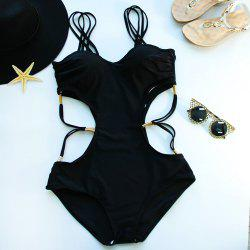 Strappy Hollow Out Swimsuits
