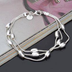 Vintage Multilayered Alloy Bracelet -