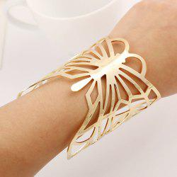 Chic Butterfly Hollow Out Cuff Bracelet For Women -