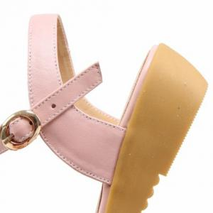 Leisure Floral and Low Heel Design  Sandals For Women -