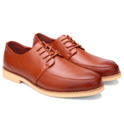 Trendy Lace-Up and Round Toe Design Casual Shoes For Men -