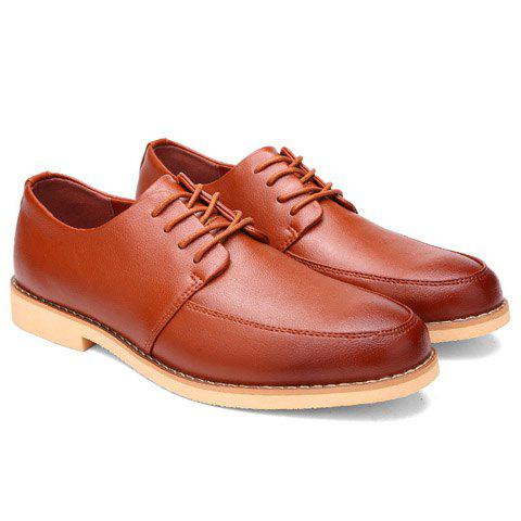 Buy Trendy Lace-Up and Round Toe Design Casual Shoes For Men