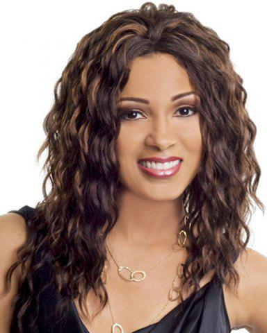 Buy Ladylike Heat Resistant Synthetic Long Curly Wig For Women
