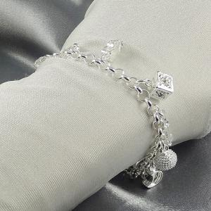 Vintage Cross Star Moon Key Shape Bracelet For Women -