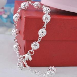 Graceful Beads Hollow Out Bracelet For Women -