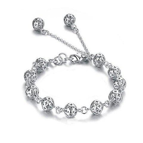 Fashion Graceful Beads Hollow Out Bracelet For Women