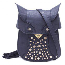 Fashionable Tassel and Metallic Design Crossbody Bag For Women -