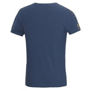 Solid Color Olive Leaf Embroidered Round Neck Short Sleeves Fitted T-Shirt For Men -