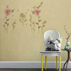 Creative Waterproof Flowers Pattern Wall Stickers For Living Room Bedroom Decoration -