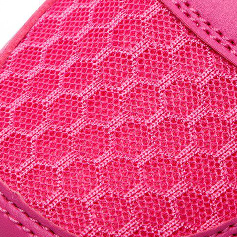 Discount Stylish Lace-Up and Letter Design Athletic Shoes For Women - 40 ROSE Mobile
