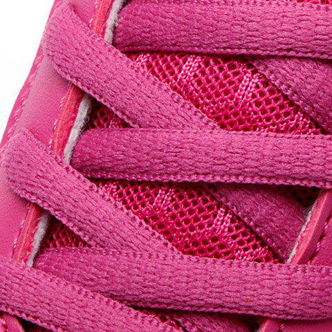 Outfits Stylish Lace-Up and Letter Design Athletic Shoes For Women - 40 ROSE Mobile
