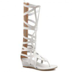 Flip Flop Styling Gladiator Tall Sandals -