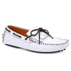 Leisure Stitching and Fringe Design Loafers For Men -