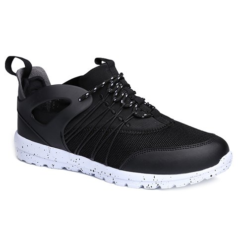 Affordable Casual Mesh and Solid Color Design Athletic Shoes For Men