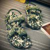Leisure Camouflage Print and Color Matching Design Sandals For Men -